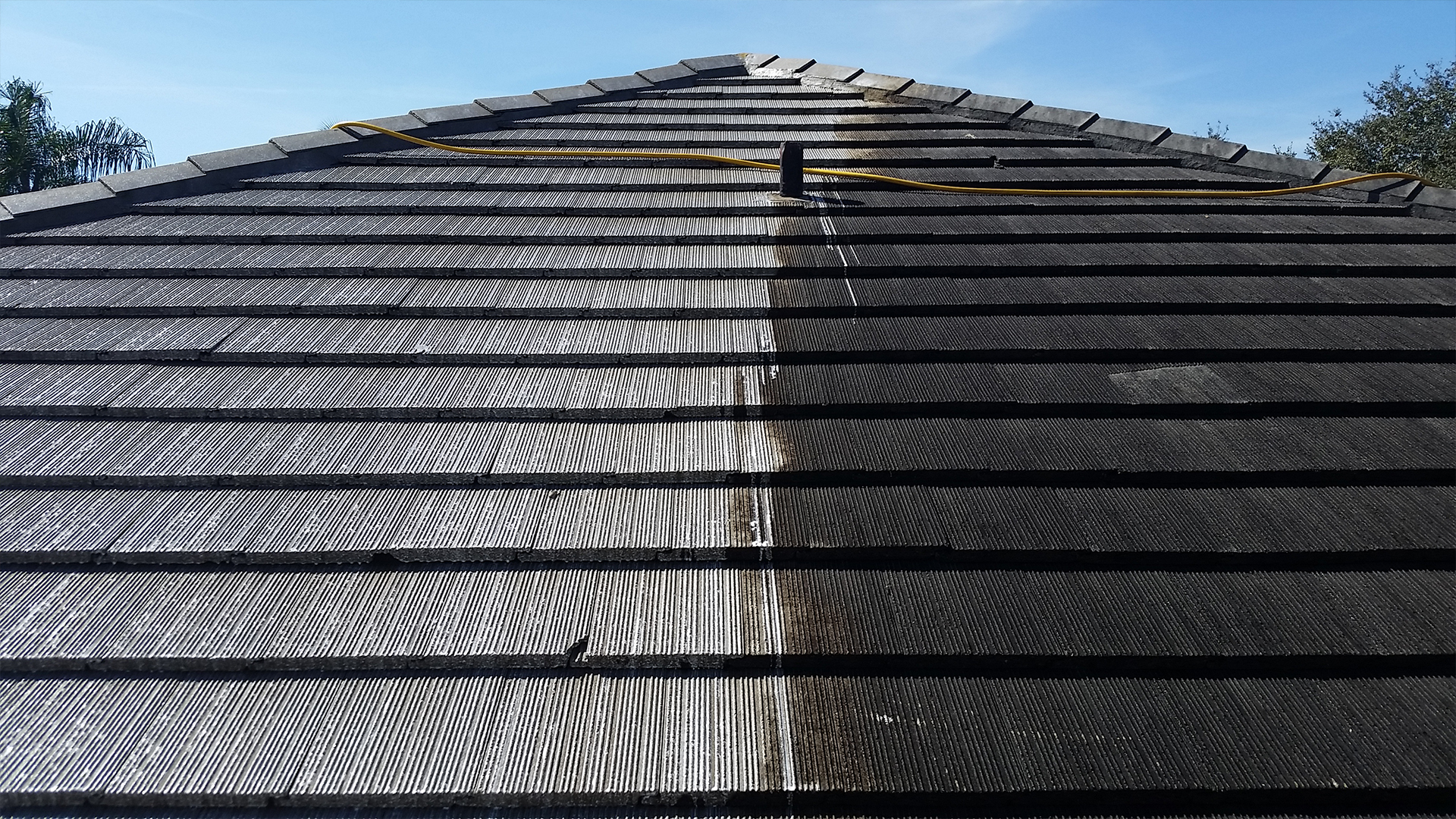 Chemical Roof Cleaning Pressure Cleaning Roof Cleaning