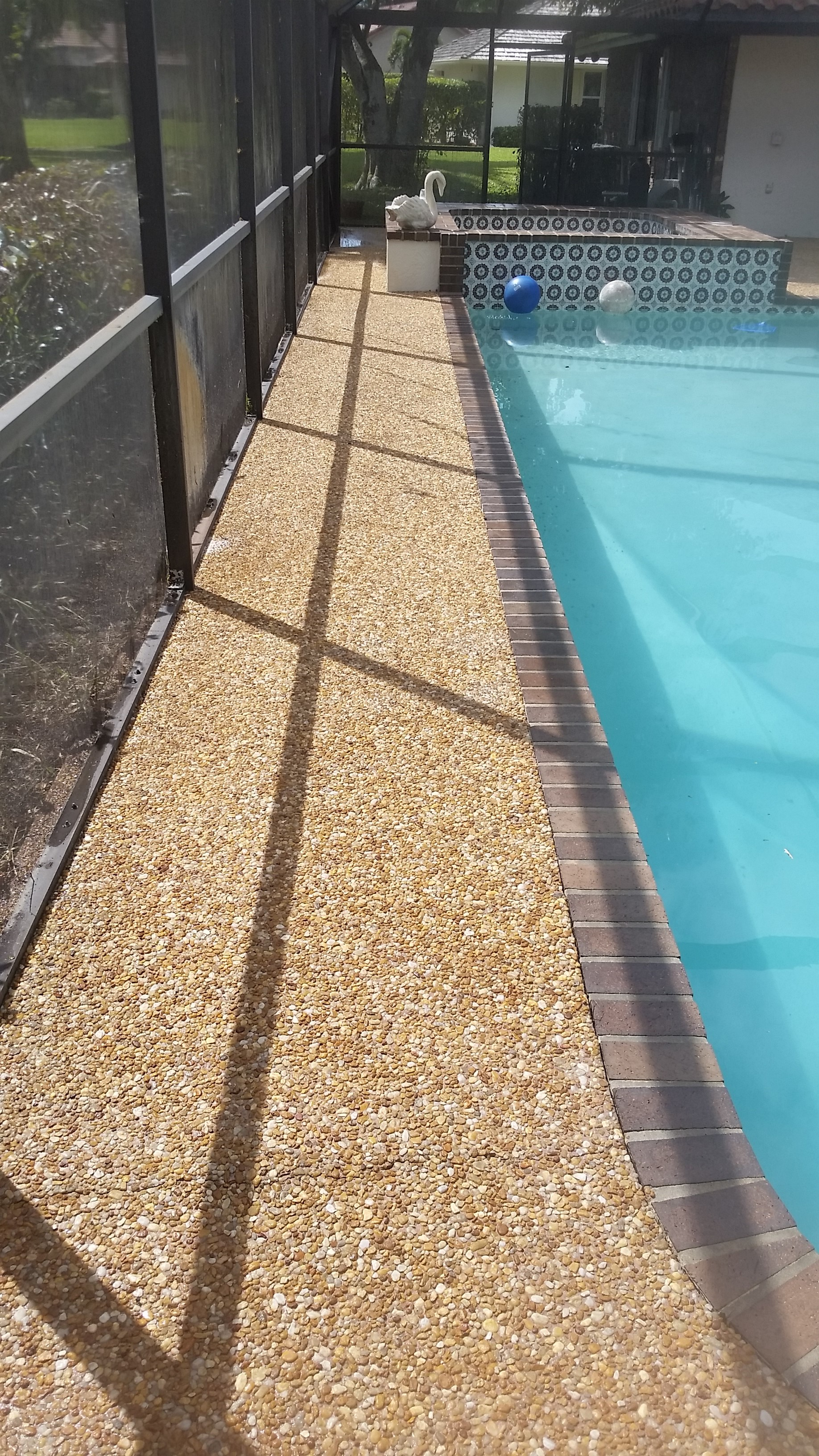 Pool deck cleaning pressure cleaning roof cleaning for Pressure clean pools